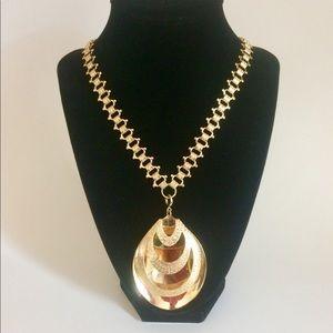 Vintage Sarah Coventry Gold Tone Pendant